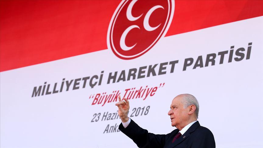 'MHP SİYASETTE 51 YILI GERİDE BIRAKTI'