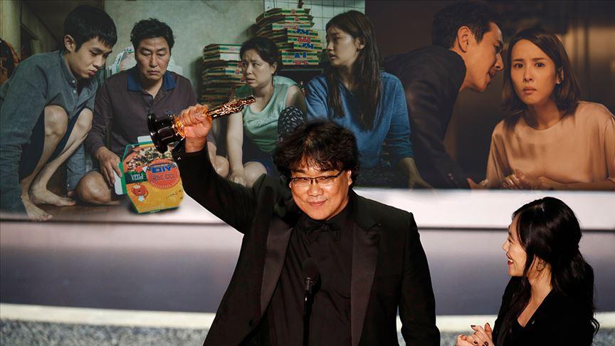 'Parazit' ilk kez İngilizce olmayan bir film olarak Oscar tarihine geçti