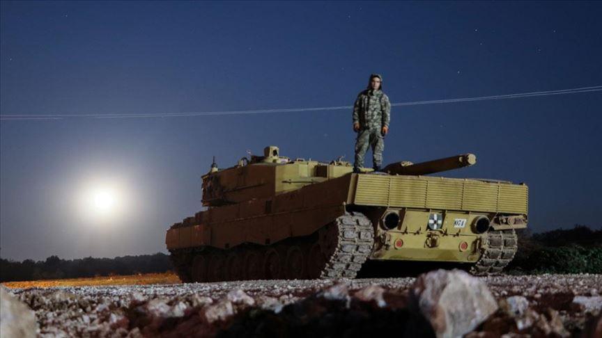İdlib'deki gözlem noktalarına füze rampası ve tank sevkiyatı yapıldı