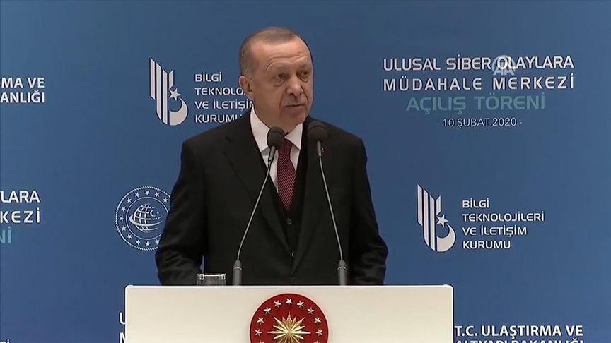 Cumhurbaşkanı Erdoğan: Yerli 5G teknolojisi altyapısını kurmadan 5G'ye geçemeyiz