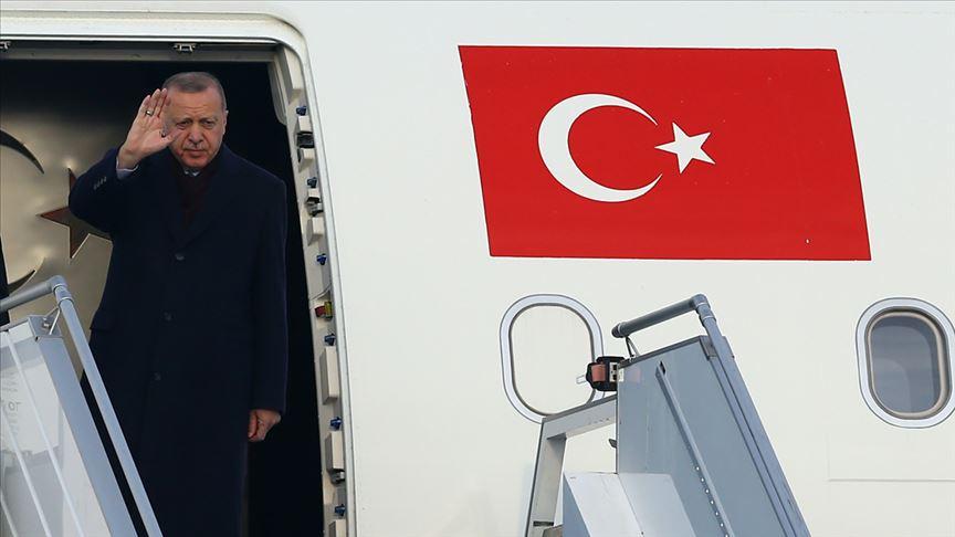 Cumhurbaşkanı Erdoğan Pakistan'a gitti!