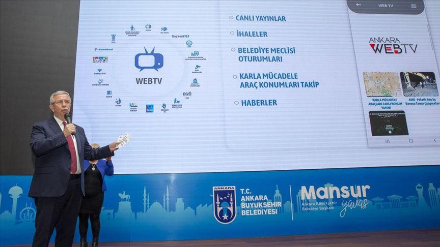 'Başkent Mobil' uygulaması tanıtıldı