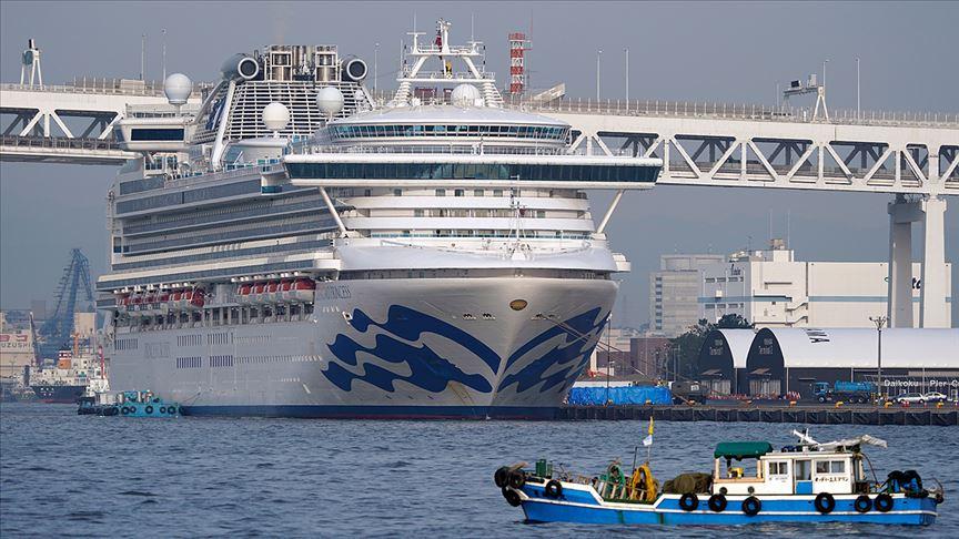 Japonya'da karantinadaki gemide 67 kişide daha 'Kovid-19' tespit edildi
