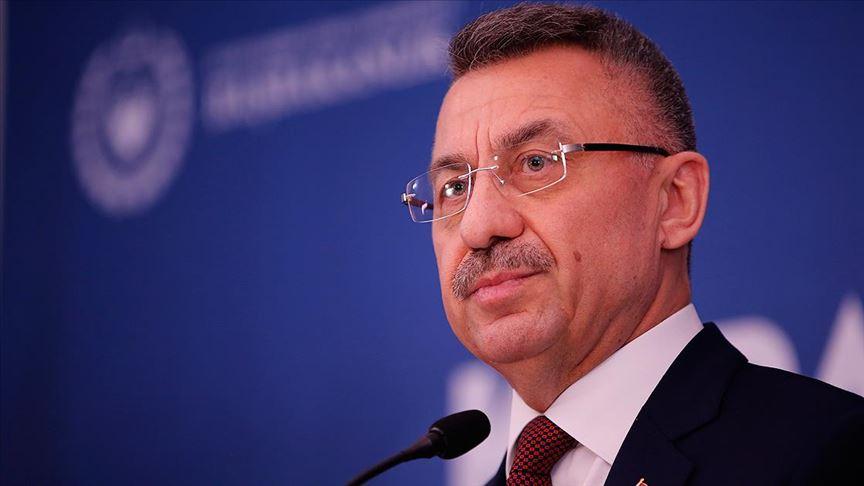 Cumhurbaşkanı Yardımcısı Oktay: Kapalı Maraş'ın açılması laftan ibaret değildir