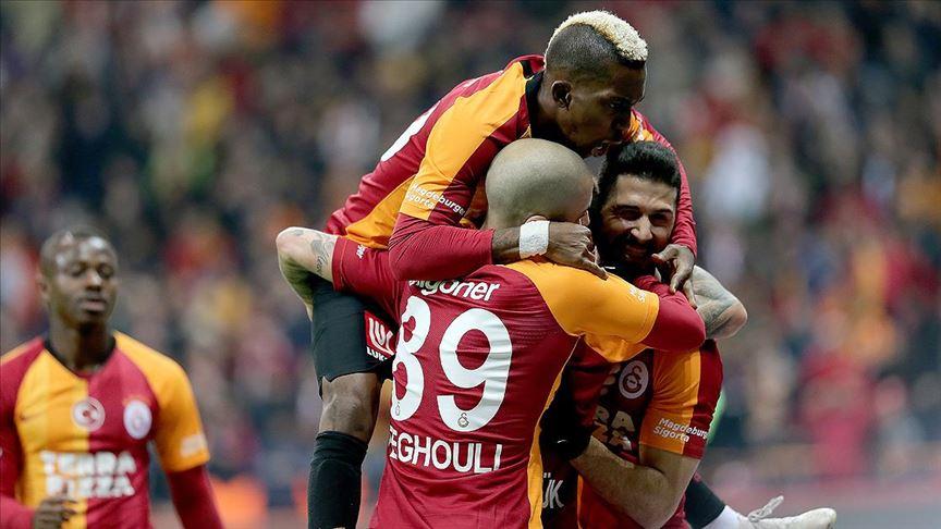 Galatasaray galibiyet serisini sürdürdü!