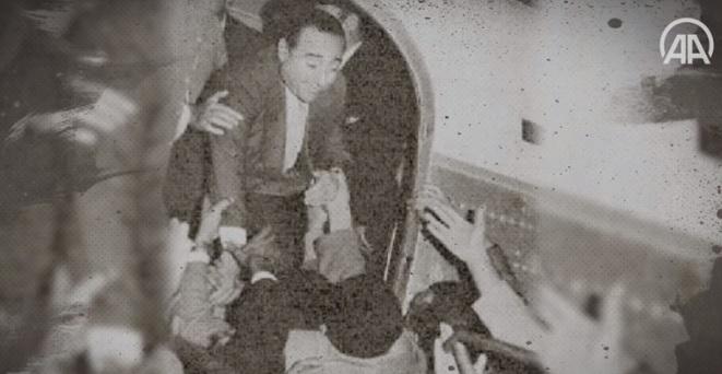 Adnan Menderes'in Ölümden Döndüğü Uçak Kazası