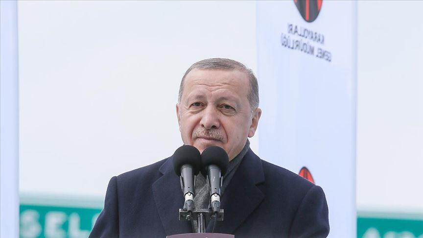 Cumhurbaşkanı Erdoğan'dan İzmir'de flaş açıklamalar
