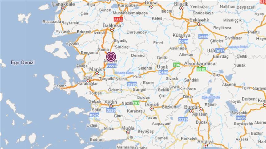 Manisa'da 4,8 büyüklüğünde deprem meydana geldi!
