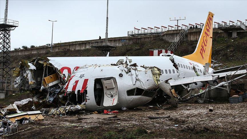 Uçak kazası soruşturmasında kaptan pilot tutuklandı!