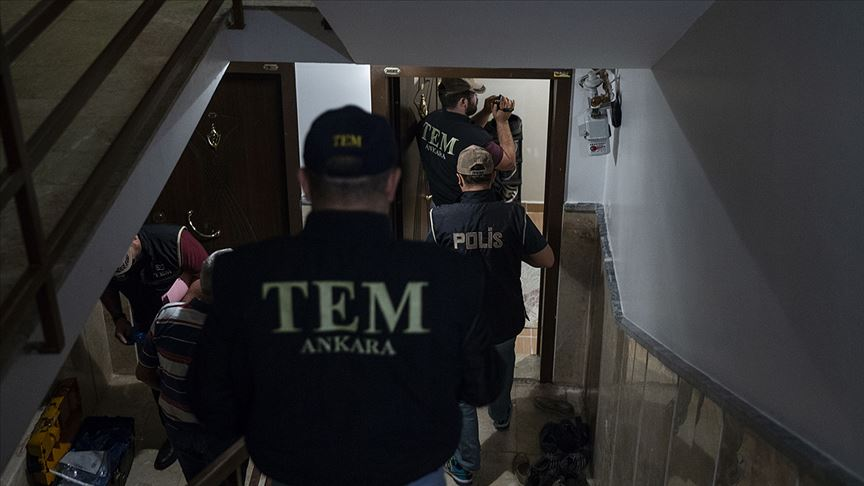 Ankara'da DEAŞ operasyonu: 9 gözaltı