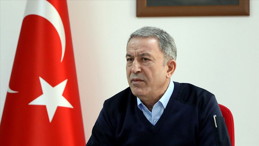 Milli Savunma Bakanı Akar: 200'ü aşkın rejim hedefi ağır ateş altına alındı