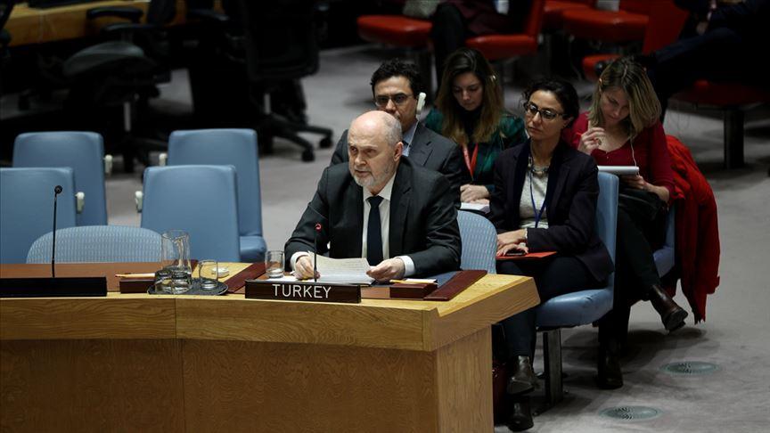 BM Daimi Temsilcisi Sinirlioğlu: Türkiye savaş istemiyor ama gerekirse güç kullanmakta tereddüt etmeyecek