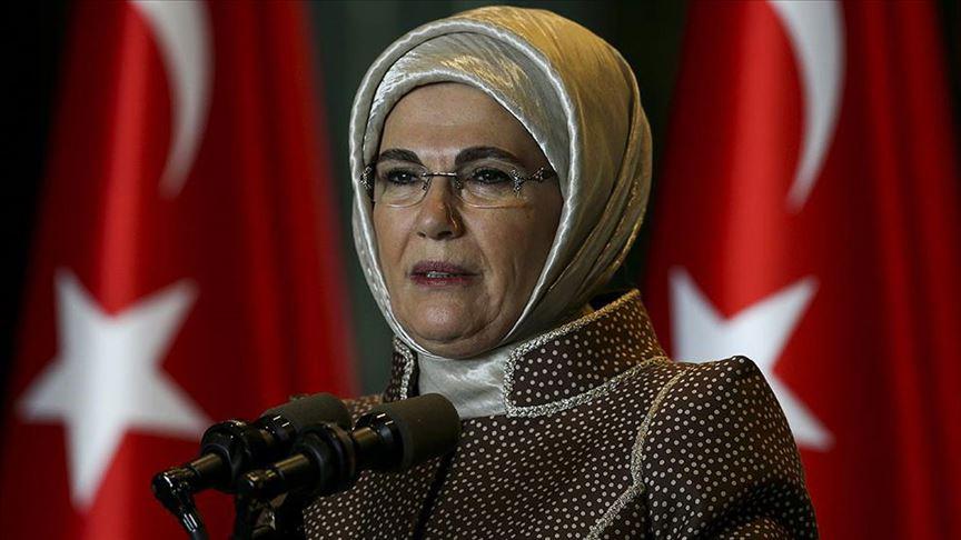Emine Erdoğan'dan İdlib paylaşımı