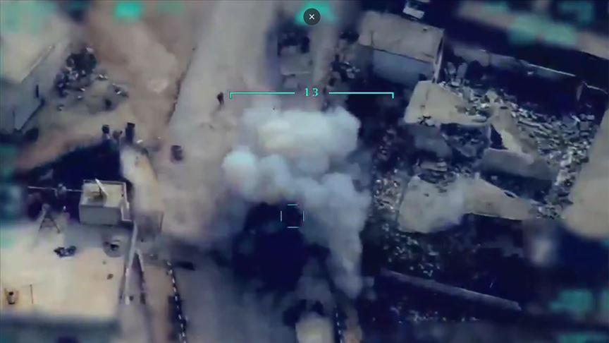 MSB: Ordumuz, rejim hedeflerini başarılı şekilde imha etmeye devam ediyor