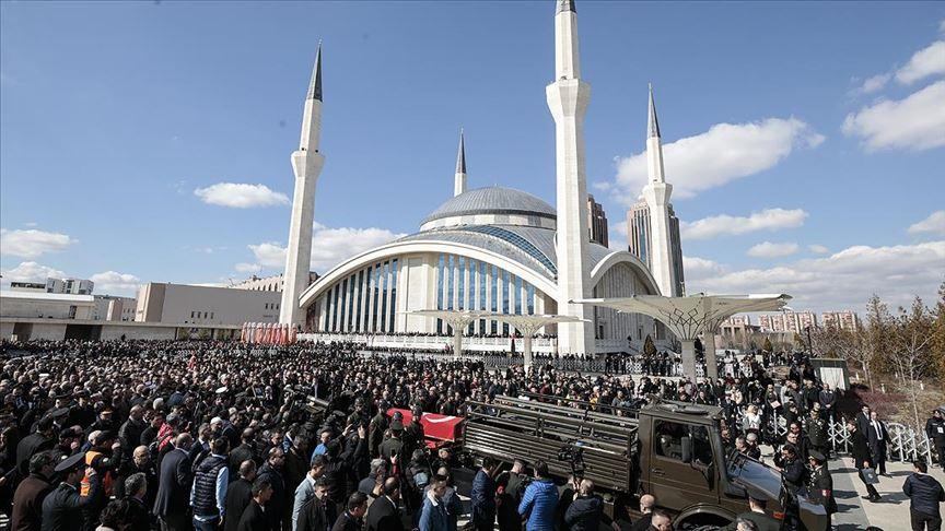İdlib şehitleri Özdemir, Gülaştı ve Çankaya son yolculuklarına uğurlandı