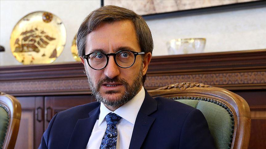 İletişim Başkanı Altun'dan 'şehitler tepesi' paylaşımı