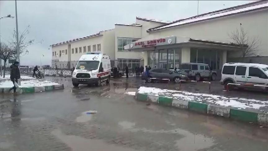 Ağrı'da Gürbulak Gümrük Müdürlüğü aracına roketli saldırı düzenlendi!