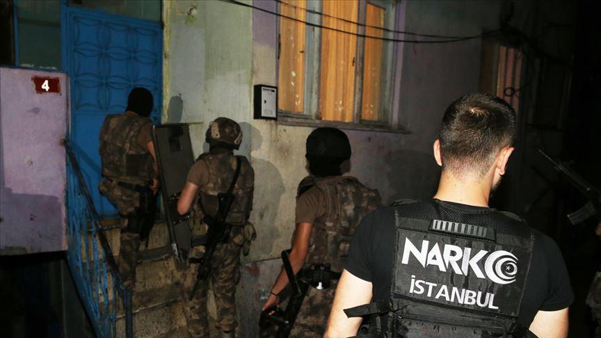 Son bir haftadaki narkotik operasyonlarında 3 bin 662 kişi yakalandı