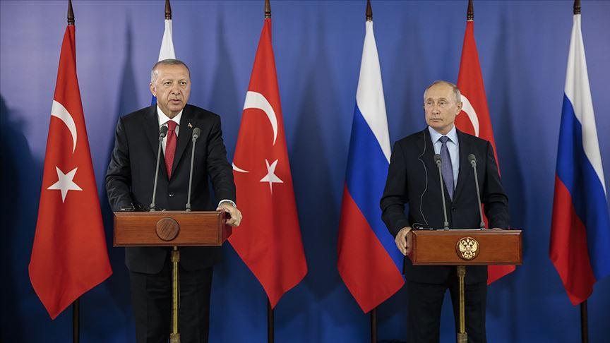 Erdoğan ve Putin Moskova'da görüşecek!