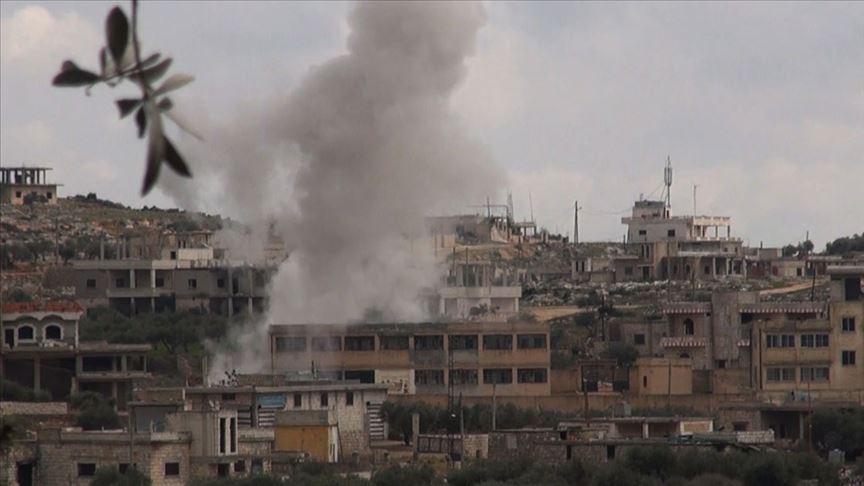 Rus savaş uçaklarından İdlib'de saldırı: 16 sivil hayatını kaybetti