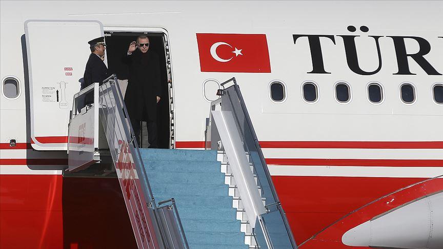 Cumhurbaşkanı Erdoğan Rusya'ya gitti!