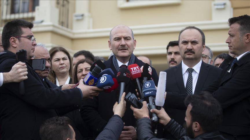 İçişleri Bakanı Soylu: Geri itmeleri engellemek için Meriç sınırına bin özel harekat polisi getireceğiz