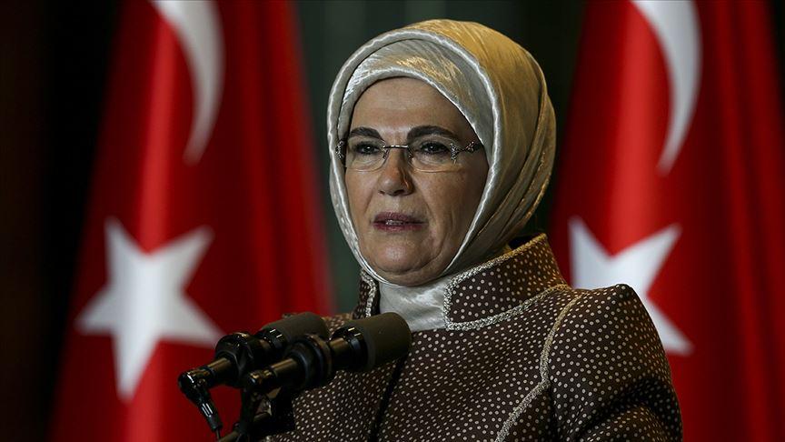Emine Erdoğan: Kadınlarımız Türkiye'nin kutup yıldızlarıdır