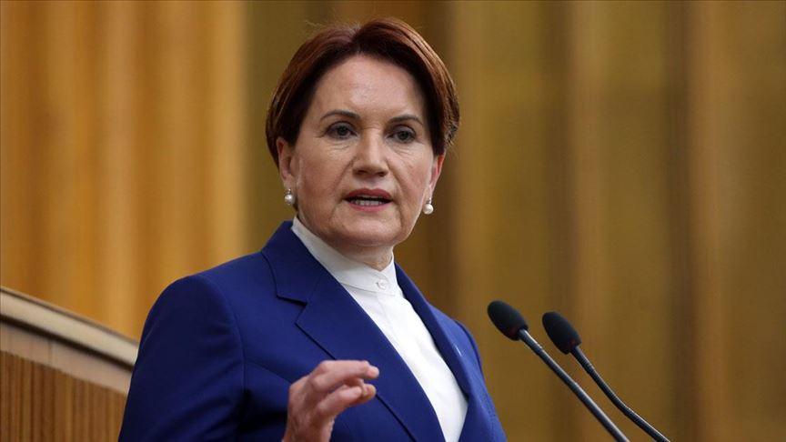 İYİ Parti Genel Başkanı Akşener gündemi değerlendirdi
