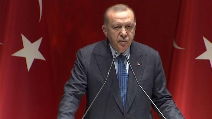 Erdoğan: Yeni diye ortaya sürülen her sözde oluşum AK Parti'ye olan ihtiyacı teyit ediyor