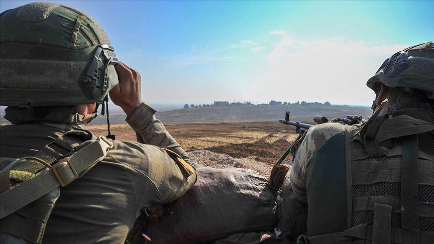 Barış Pınarı Harekatı bölgesinde 8 PKK/YPG'li terörist etkisiz hale getirildi