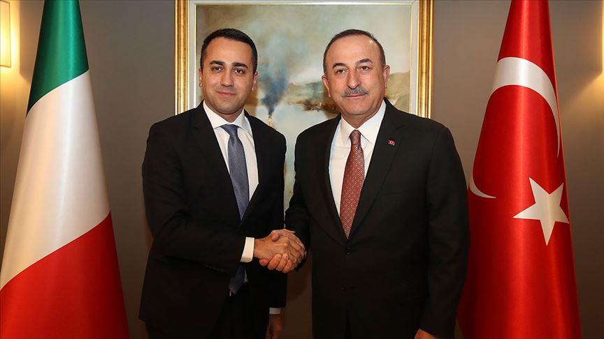 Dışişleri Bakanı Çavuşoğlu, İtalyan mevkidaşı ile görüştü!