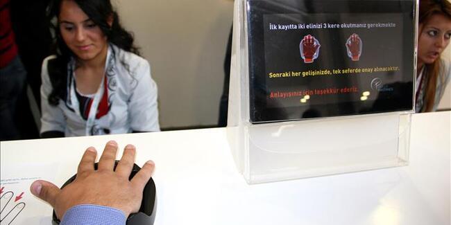 'Biyometrik Kimlik Doğrulama Sistemi' uygulaması geçici süreyle askıya alındı