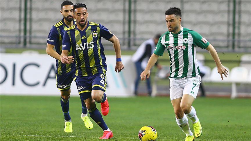 Fenerbahçe Konya'da kaybetti!