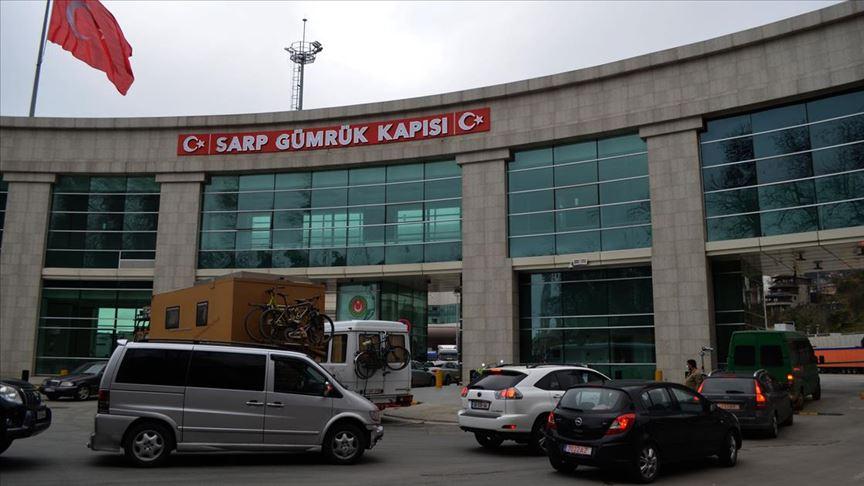 SARP SINIR KAPISI yolcu trafiğine kapatıldı!