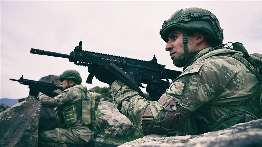 MSB: Barış Pınarı bölgesine sızma girişiminde bulunan 11 terörist etkisiz hale getirildi
