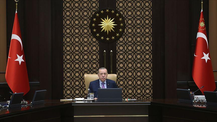 Cumhurbaşkanı Erdoğan koronavirüsle mücadele toplantısına başkanlık edecek