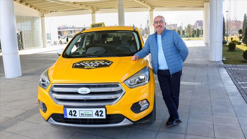 Belediye başkanı ilçenin nabzını 'taksi'den tuttu