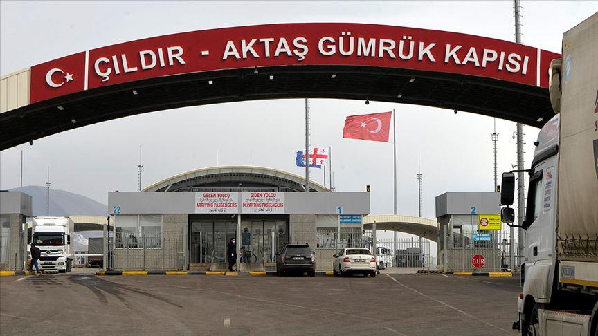 Çıldır-Aktaş ve Türkgözü sınır kapıları geçici olarak yolcu trafiğine kapatılacak