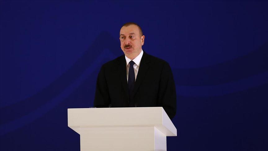 Azerbaycan Cumhurbaşkanı Aliyev'den yeni tip koronavirüs mesajı