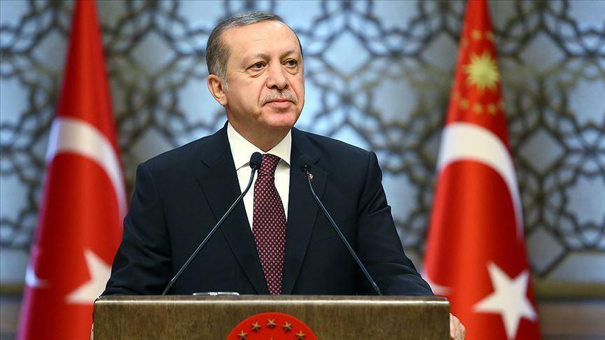 Cumhurbaşkanı Erdoğan'dan koronavirüse karşı sesli mesajla çağrı