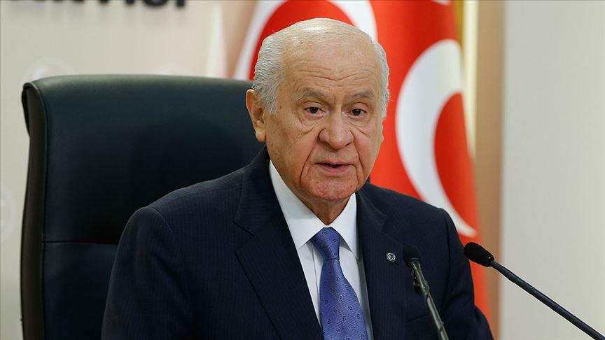 MHP Genel Başkanı Bahçeli: Eskisinden güçlü şekilde milli beraberliğimiz perçinlenecek