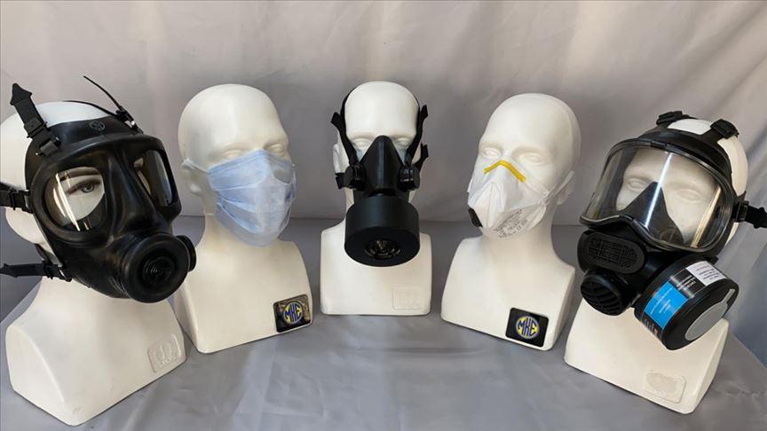 MSB: Dikimevleri ve MKE'de, TSK'nin ihtiyacı olan maske imalatı hızla sürüyor