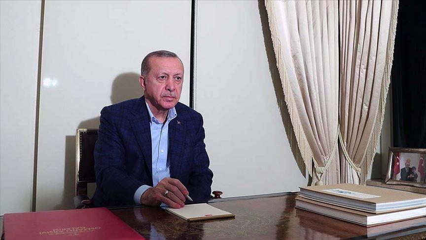 Cumhurbaşkanı Erdoğan: Devletimiz tüm kurumlarıyla görevinin başında