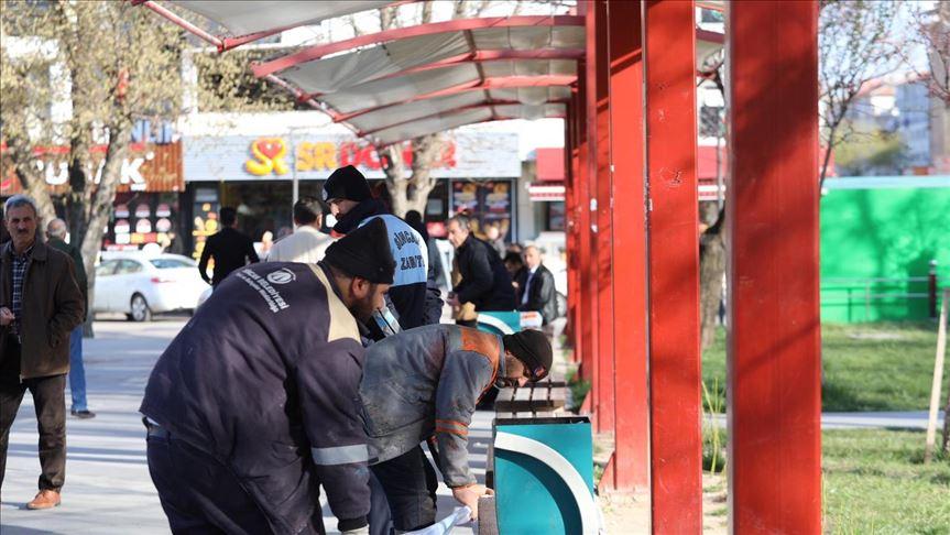 Sincan Belediyesi bankları kaldırdı, nikahları online ortama taşıdı