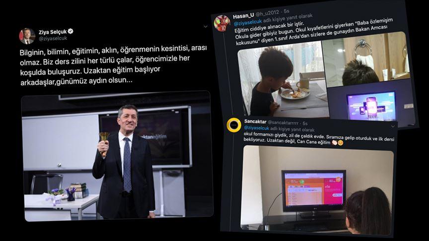 Sosyal medyadan 'uzaktan eğitim' manzaraları..