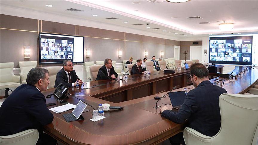 Bakan Fahrettin Koca'dan 81 ilin sağlık müdürüyle toplantı