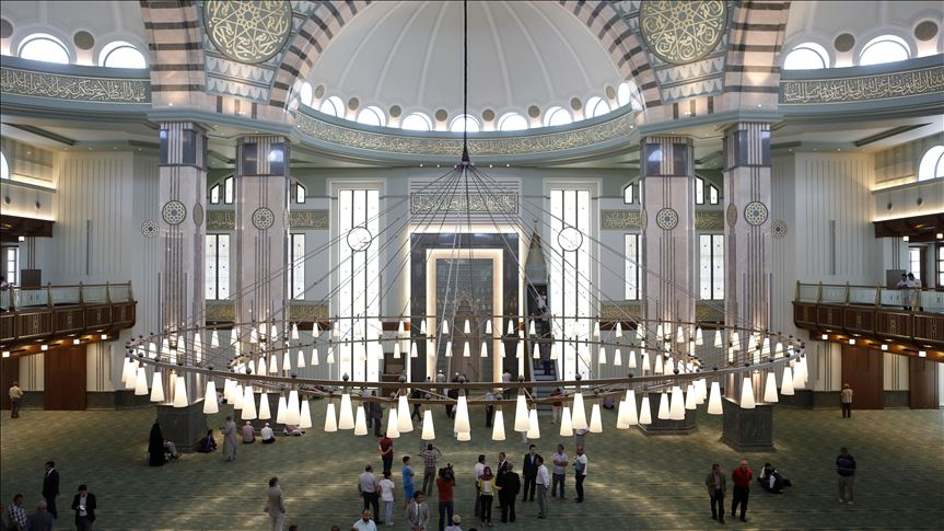 Beştepe Millet Camisi'nde cuma namazı