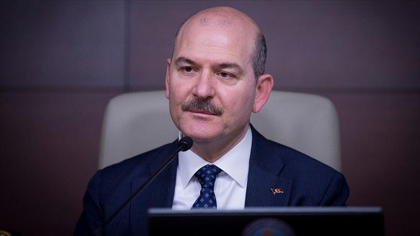 Süleyman Soylu: Türkiye'de şu anda hayat yüzde 80 durmuş durumda