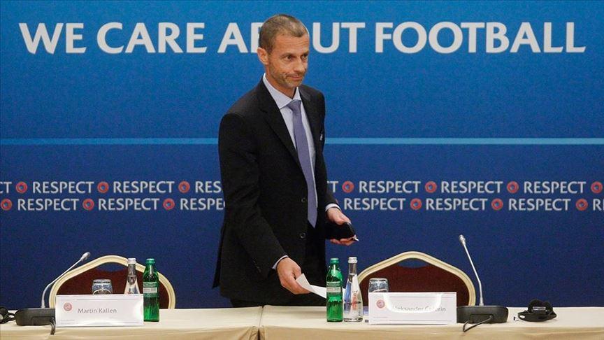 UEFA Başkanı, futbol sezonlarının akıbetini değerlendirdi: Üç seçenek var