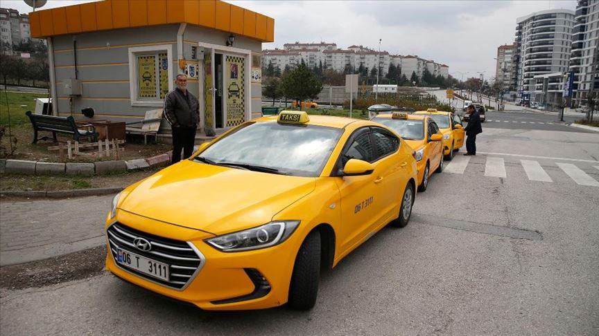 Başkentte iki taksi durağının plaka kısıtlamasında 'tek-çift' şanssızlığı